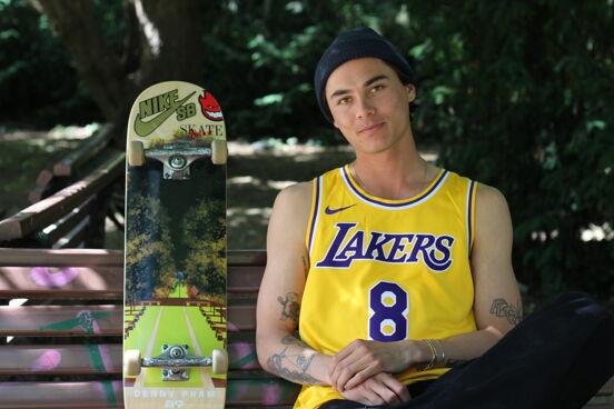 Denny Pham Skateboarder