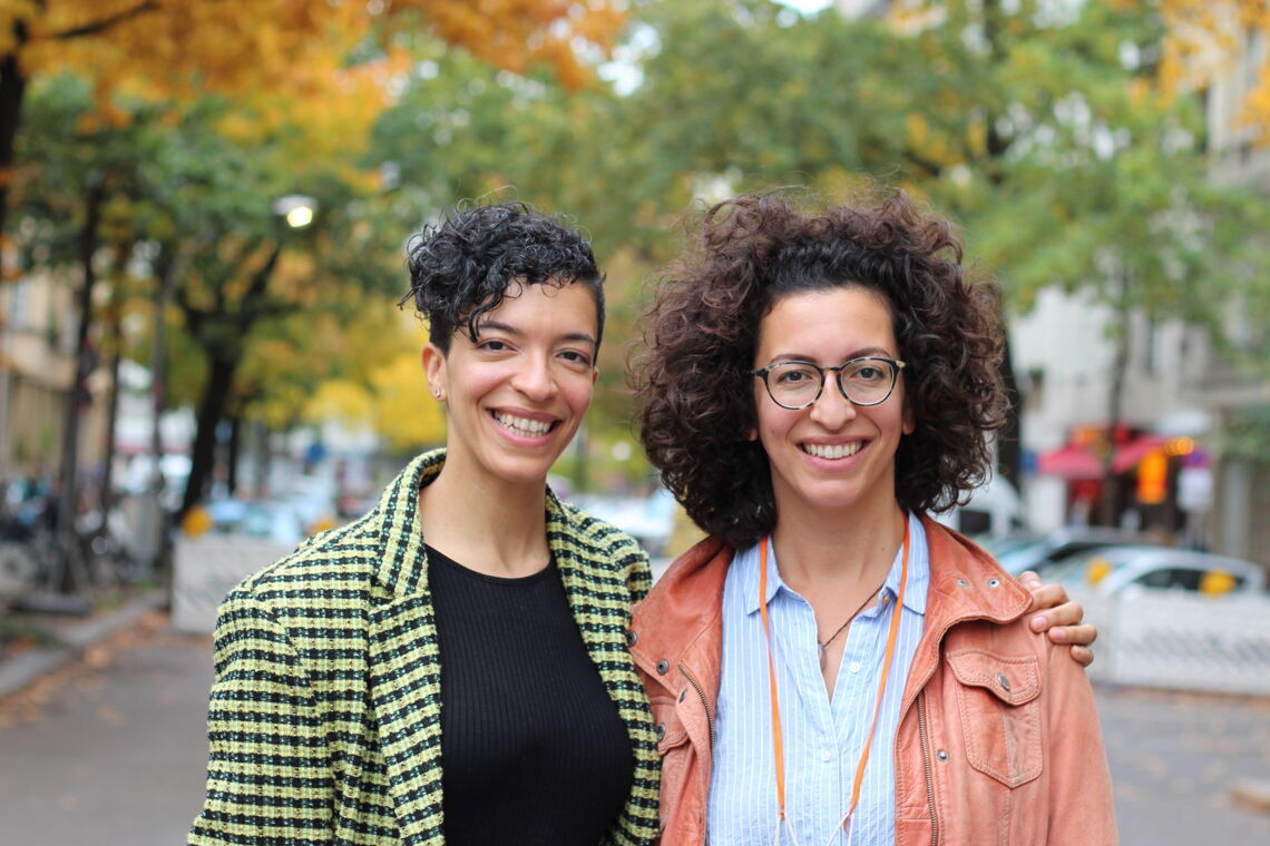 Celina und Leila Bostic